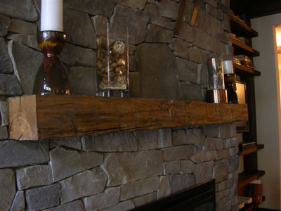 Rough Hewn Mantle