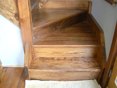 P R Antique Products Stairs